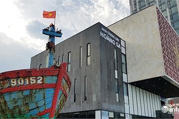 Đà Nẵng đưa tàu cá bị tàu Trung Quốc đâm chìm về Nhà Trưng bày Hoàng Sa