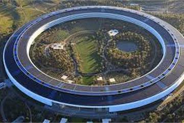 """Bí mật về trụ sở 5 tỷ USD của Apple không """"gắn liền"""" với Trái đất"""