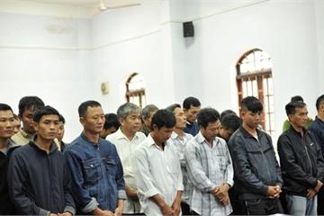 """Đại án gỗ lậu ở Đắk Nông: Trùm gỗ Phượng """"râu"""" bị tuyên án 8 năm 6 tháng tù"""
