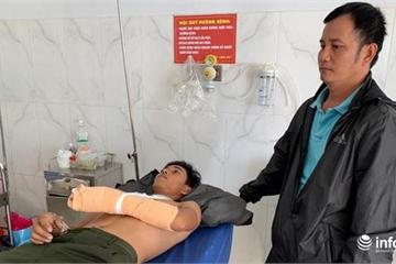 Tin mới nhất vụ cán bộ kiểm lâm bị lâm tặc chém đứt gân bàn tay trái ở VQG Yook Đôn