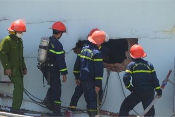 Lâm Đồng: Cháy lớn tại khu nghiên cứu nuôi cấy mô giống nông nghiệp công nghệ cao