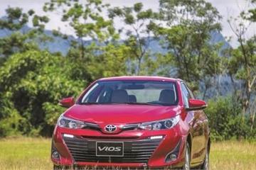 """Toyota Vios 2018 """"lên đỉnh"""" với 3.600 chiếc bán ra trong 1 tháng"""
