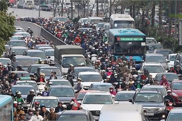 Bộ GTVT yêu cầu mở trạm thu phí để tránh ùn tắc khi người dân kéo về thành phố sau Tết