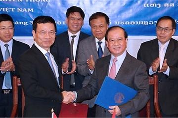 Việt Nam và Lào ký thỏa thuận hợp tác về thông tin và truyền thông