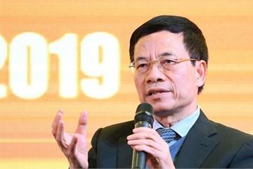 """Bộ trưởng Nguyễn Mạnh Hùng: """"Đến năm 2020 hầu hết người dân sẽ sử dụng smartphone"""""""