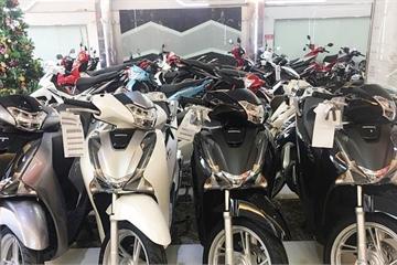 Xe máy Honda giảm giá tại đại lý: SH vẫn chênh giá cao, nhiều xe đang bán dưới giá đề xuất