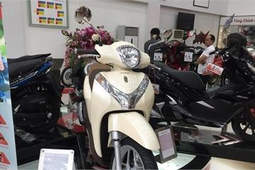 Giá xe máy Honda tiếp tục giảm, Honda SH và SH Mode ổn định