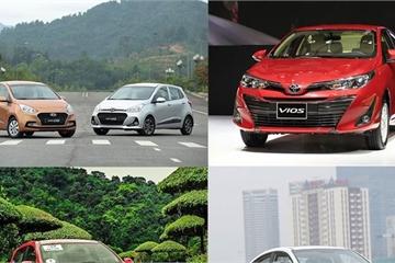 Ô tô bán chạy nhất: Toyota Vios đứng top, Mitsubishi Xpander bám đuổi quyết liệt