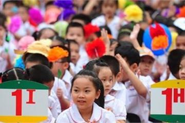 Hôm nay, Hà Nội bắt đầu cho đăng ký tuyển sinh trực tuyến vào lớp 1