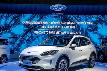 Ford tại Triển lãm ô tô Việt Nam 2019: Ford Escape 2020 lắp ráp tại Việt Nam, chính thức bán vào năm sau