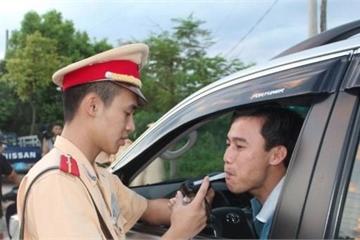 Sau 6 ngày ra quân, CSGT phạt 2.673 trường hợp vi phạm nồng độ cồn