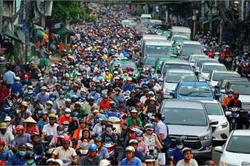 Cấm xe máy tại Việt Nam không phải là giải pháp chống ùn tắc hiệu quả?