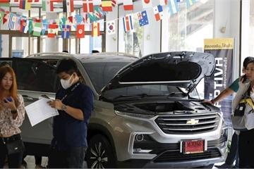 GM rút khỏi Thái Lan: Khách đổ xô đi mua Chevrolet giảm nửa giá