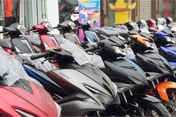 """Nhu cầu mua xe mới giảm sút, Honda, Yamaha, Piaggio... có thể """"gặp khó"""" ở Việt Nam"""