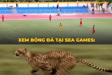 CĐV Việt Nam bức xúc, liên tục than trời khi xem U22 đá SEA Games 30