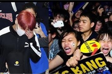 Sao BTS tiết lộ phải bay chuyên cơ vì sợ hãi người hâm mộ