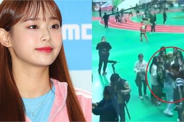 Nữ Idol Kpop bị nhân viên đài MBC túm tóc lôi đi khi ghi hình