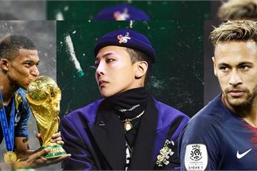 Cầu thủ bóng đá Neymar, Mbappé khoe ảnh diện đôi giày của G-Dragon