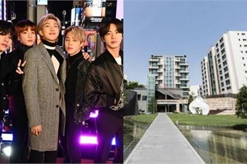 """Mục sở thị nơi ăn chốn ở """"sang chảnh"""" của 7 chàng trai BTS"""