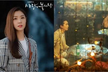 """Bắt gặp """"chị đại Triều Tiên"""" Seo Dan hẹn hò ăn tối cùng 'trai lạ' sau Hạ cánh nơi anh"""
