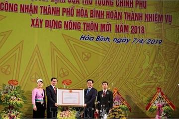 Thành phố Hòa Bình hoàn thành nhiệm vụ xây dựng nông thôn mới