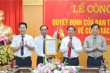Nhân sự mới TPHCM, Hà Tĩnh, Nghệ An, Ninh Thuận, Thái Bình