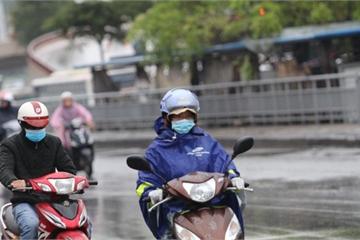 Không khí lạnh tăng cường, Hà Nội có mưa, trời chuyển rét