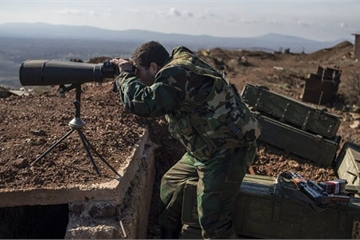 Tên lửa Israel bắn trúng căn cứ quân sự Syria gần khu phi quân sự ở cao nguyên Golan?