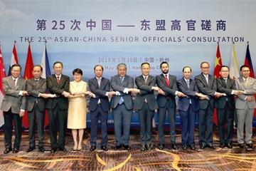 Quan chức cấp cao Trung Quốc – ASEAN họp bàn về hợp tác trên Biển Đông