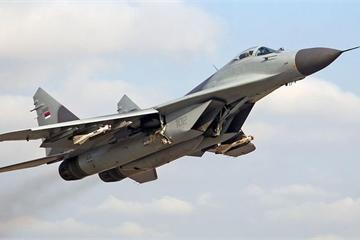 Tiêm kích MiG-29 của không quân Slovakia gặp nạn, phi công may mắn thoát chết