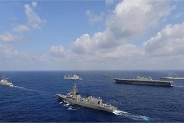 """Mỹ - Nhật - Ấn - Australia sắp liên minh tuần tra Biển Đông, """"dằn mặt"""" Trung Quốc?"""