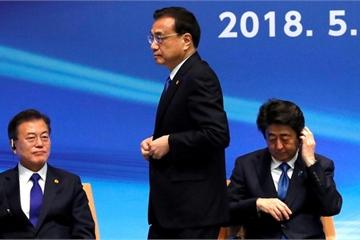 """Mối đe dọa Triều Tiên """"ám ảnh"""" cuộc gặp của ba nhà lãnh đạo Trung – Nhật – Hàn"""