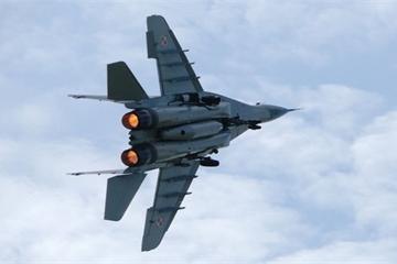 Tiêm kích MiG-29K do Nga sản xuất vừa bị rơi sáng nay