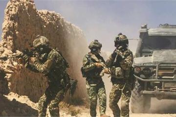 """Cận cảnh lực lượng đặc nhiệm Nga tác chiến như """"phim hành động"""""""