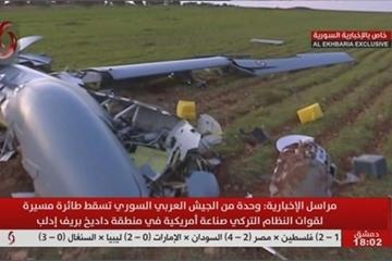 """UAV Thổ Nhĩ Kỳ bị """"băm nhỏ"""", quân đội Syria thảm bại do vắng bóng không quân Nga"""
