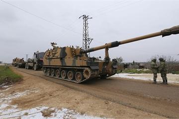 Bất lực trước Nga, Mỹ mới hậu thuẫn đạn dược cho Thổ Nhĩ Kỳ tấn công Syria?
