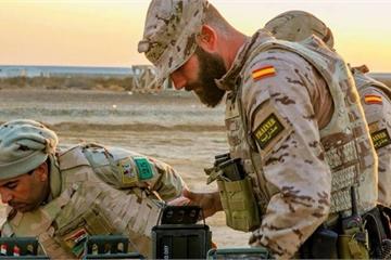 Tên lửa lại trút xuống căn cứ quân sự thuộc liên quân chống IS của Mỹ ở Iraq