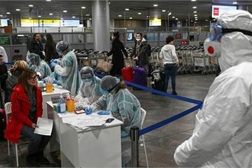 Vận tải cơ An-124 của quân đội Nga chở 25,5 triệu khẩu trang y tế mua từ Trung Quốc