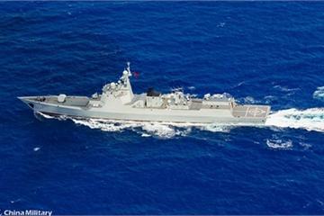 Chiến hạm Mỹ liên tục tới Biển Đông, TQ điều cả tàu chiến, tàu ngầm, máy bay tập trận