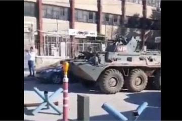 Lính Nga kịp thời có mặt, ngăn giao tranh leo thang giữa quân đội Syria và phiến quân