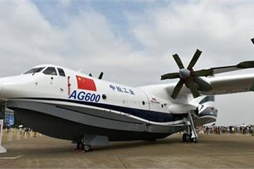 """Trung Quốc thử nghiệm thủy phi cơ đổ bộ """"khủng"""" có thể triển khai ra Biển Đông"""