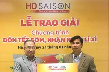 HD SAISON tặng 30 triệu đồng cho các khách hàng may mắn