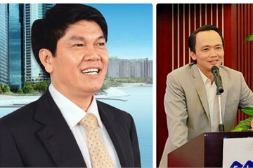"""Bất ngờ cuộc """"rượt đuổi ngoạn mục"""" giữa ông Trịnh Văn Quyết, ông Trần Đình Long"""