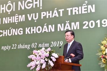 Bộ trưởng Tài chính tin tưởng thị trường chứng khoán sẽ tiếp tục phát triển