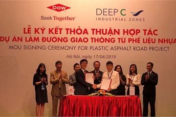 Xây dựng đường giao thông từ phế liệu nhựa đầu tiên tại Việt Nam