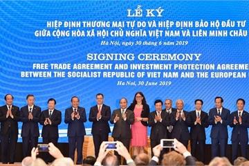 Tin vui: Chính thức ký kết Hiệp định EVFTA và Hiệp định IPA