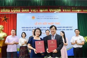 Bộ LĐ-TB&XH và Trung Nguyên Legend ký thỏa thuận hợp tác hỗ trợ sinh viên khởi nghiệp