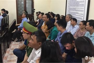 Xét xử vụ sửa điểm thi ở Hà Giang: Vợ ông Triệu Tài Vinh xin vắng mặt tại phiên tòa