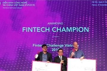 Start up Trusting Social giành giải Nhất tại Fintech Challenge Vietnam