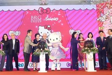 BRG xây dựng tổ hợp vui chơi giải trí Sanrio Hello Kitty gần Hồ Tây